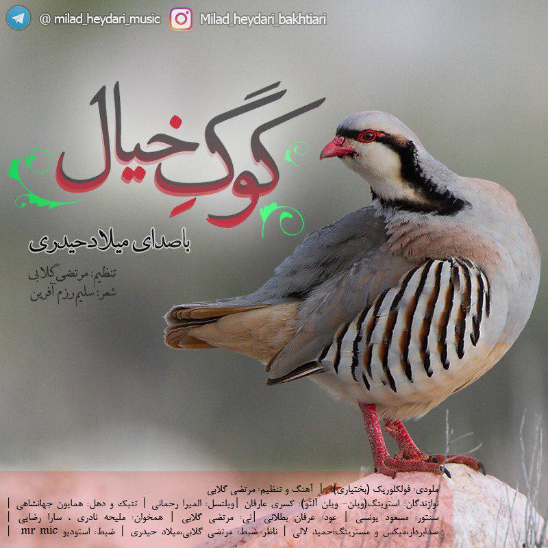 دانلود آهنگ بختیاری میلاد حیدری به نام کوگ خیال